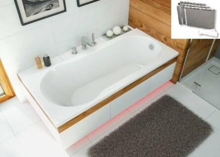 Scansani Dida прямоугольная акриловая ванна белого цвета 150x70