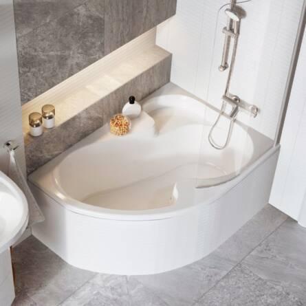 Ванна Ravak Rosa I 140x105 (L) + ножки